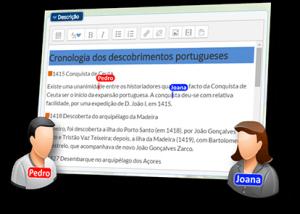 Projeto e-Learning - Colaboração